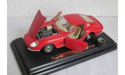 Ferrari 275 GTB 4 1966 1:24 Burago, масштабная модель, scale24