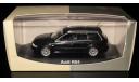 AUDI RS4 Avant B5 black 1:43 Minichamps, масштабная модель, 1/43