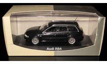 AUDI RS4 Avant B5 black 1:43 Minichamps, масштабная модель, scale43
