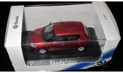 Skoda 1:43 Skoda Fabia 2005, масштабная модель, 1/43
