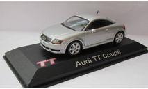 Audi TT Coupe 1999 1:43 Minichamps, масштабная модель, scale43