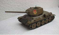 Танк Т 34 завод Арсенал Ленинград Сделано в СССР 1:43, масштабные модели бронетехники, scale0