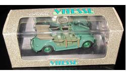 VW Volkswagen Coccinelle Polizei 1948  1/43   Vitesse