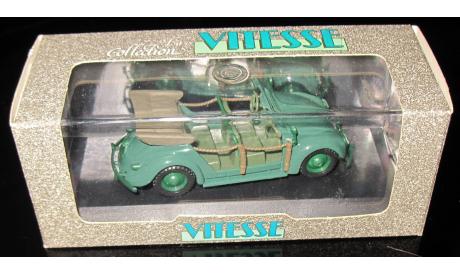 VW Volkswagen Coccinelle Polizei 1948  1/43   Vitesse, масштабная модель, 1:43