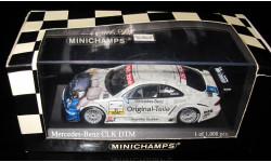 Minichamps Мерседес Mercedes Benz CLK COUPE DTM 2001-T Jaeger 1/43