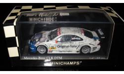 Minichamps 1/43 Мерседес Mercedes Benz CLK DTM 2001 Dumbreck