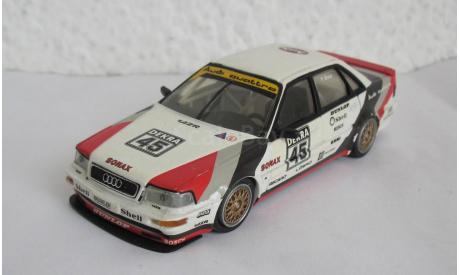 Audi V8 1:43 Minichamps, масштабная модель, 1/43