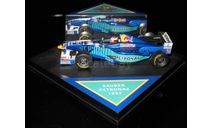 1/43 Гран-при Формула 1 F1 RBA Quartzo Red Bull Sauber Petronas C16 Джонни Херберт 1997 #16, масштабная модель, 1:43