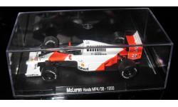 Атлас 1/43 Гран-при Легенды Формула 1 F1 RBA Tyrrell McLaren Honda mp4/5b 1990 Айртон Сенна