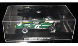 Атлас 1/43 Гран-при Легенды Формула 1 Brabham Repco BT 24 1967, масштабная модель, 1:43, Atlas