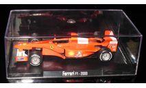 Atlas 1/43 Гран-при Легенды Формула 1 Michael Schumacher Ferrari f1-2000, масштабная модель, 1:43