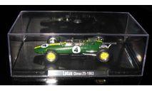 Атлас 1:43 Гран-при Легенды Формула 1 F1 RBA Tyrrell Lotus 25 CLIMAX JIM CLARK GANADOR 1963, масштабная модель, 1/43, Atlas