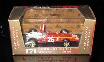 FERRARI 312 F1 HP400 1968 Жаки Икса гоночный номер 26  1/43 Brumm (Италия) , масштабная модель, 1:43