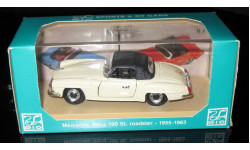 Мерседес Mercedes - Benz 190SL roadster 1955-1963  1/43 Brumm (Италия)