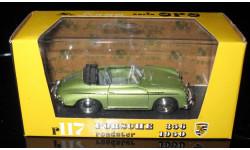 Porsche 356 Roadster 1950 № 117 1/43 Brumm (Италия) , масштабная модель, 1:43