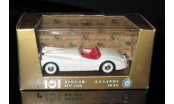 Jaguar HP 160 3,5 litri 1948 1/43 Brumm (Италия)