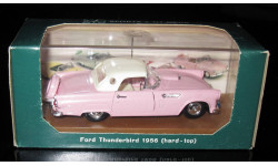 Ford Thunderbird 1956 hard top  1/43 Brumm (Италия)