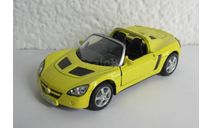 Opel Speedster 2001 1:36 WELLY, масштабная модель, scale35
