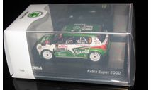 Skoda Fabia Super 2000 Rallye Monte Carlo 2011 Nr.3 1:43, масштабная модель, 1/43