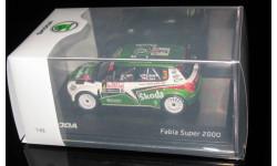 Skoda Fabia Super 2000 Rallye Monte Carlo 2011 Nr.3 1:43