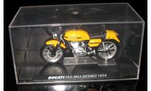 Модель мотоцикла DUCATI 350 Mk3 DESMO 1974 1:24, масштабная модель мотоцикла, 1/24