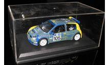 Renault Clio S1600 Акрополь ралли 2003 1:43, масштабная модель, 1/43
