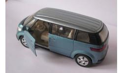 Welly Microbus Volkswagen VW 2001 1:34 -1:39, масштабная модель, 1:43, 1/43
