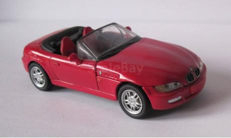 BMW Z 3 Roadster Convertible 1995-99 1:43 Schuco, масштабная модель, 1/43