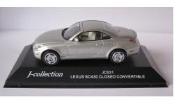 Lexus SC430 закрытая 2005 1:43 j-collection, масштабная модель, 1/43