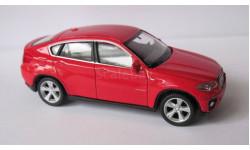 BMW X 6  1:43  Welly, масштабная модель, 1/43