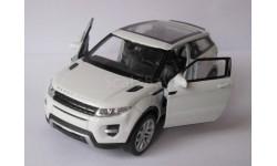 Leand Rover Range Rover Evoque    Welly, масштабная модель