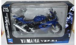 Yamaha YZF-R1 1:12  NewRay, масштабная модель мотоцикла, 1/12, New-Ray