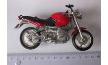 Модель мотоцикла BMW R1100R 1:10 Maisto, масштабная модель мотоцикла, 1:18, 1/18