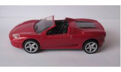 Ferrari 360 Spider Cabriolet 1:38  V-Power, масштабная модель