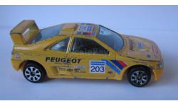 Peugeot 405 1:43 Burago, масштабная модель, 1/43