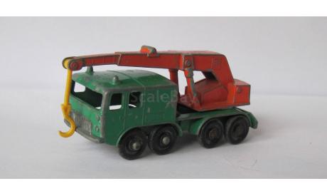 Matchbox Lesney No. 30 8 Wheel Crane, масштабная модель