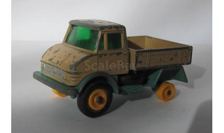 Unimog No 49 Matchbox, масштабная модель