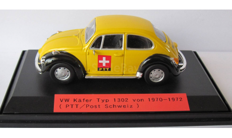 VW  Volkswagen Käfer Typ 1302  1970-1972  1:43, масштабная модель, 1/43