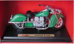 Мотоцикл Indian Four 1:18 Maisto
