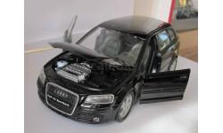 Audi A3 Sportback 1:24  Welly, масштабная модель, 1/24