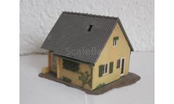 Здания и сооружения для макета 1:87 16,5 HO Дом