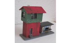 Здания и сооружения для макета 1:87 16,5 HO станция с кафе