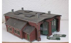 Здания и сооружения для макета 1:87 16,5 HO депо на 2 локомотива