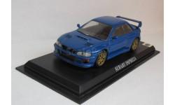 Субару Subaru Impreza1:43 Del Prado, масштабная модель, scale43