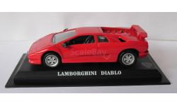 Lamborghini Diadlo 1:43 Del Prado, масштабная модель, 1/43