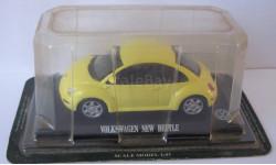 Volkswagen New Beetle 1:43 Del Prado, масштабная модель, 1/43