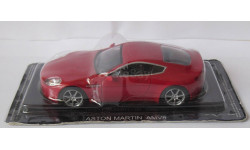 Aston Martin AMV8 1:43 Altaya, масштабная модель, 1/43