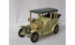 Mercedes Benz Limousine 1910 1:43  Matchbox, масштабная модель, Opel