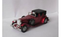 Duesenberg Town Car 1930  1:43 Matchbox, масштабная модель