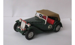 MG T.C. 1945 1:43 Matchbox Lesney ретро автомобиль